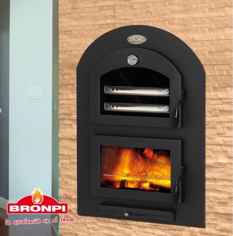 Bronpi ARAS - vestavná pec na dřevo