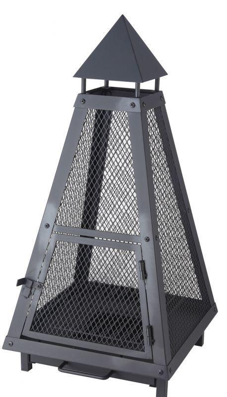 Lienbacher Venkovní přenosné ohniště pyramida