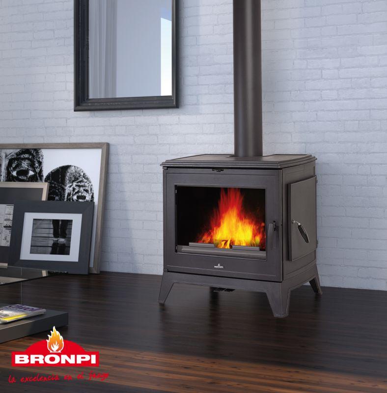 Bronpi DERBY 14 kW - krbová kamna litinová