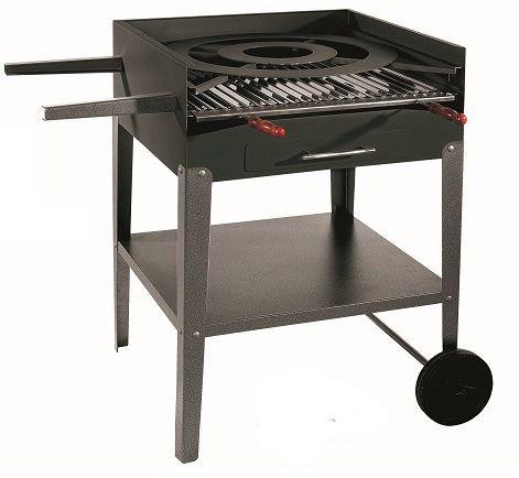 Bronpi Zahradní BBQ gril na dřevěné uhlí BP-44