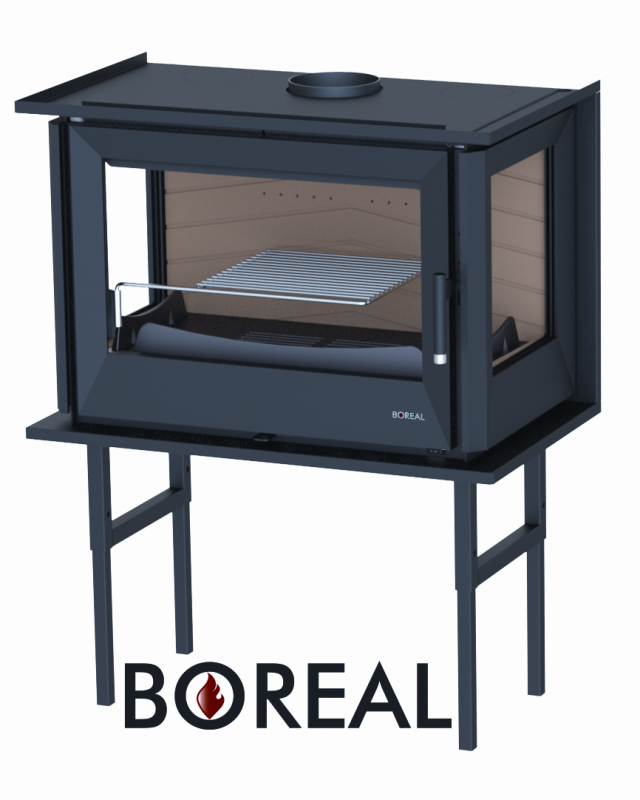 Boreal I70/3 - krbová vložka rohová pravá a levá