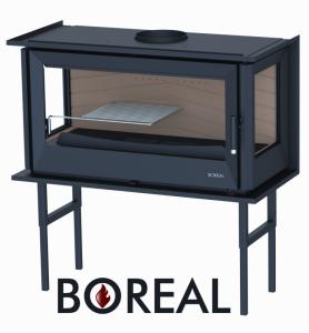 Zvětšit fotografii - Boreal I90/3 - krbová vložka rohová pravá a levá