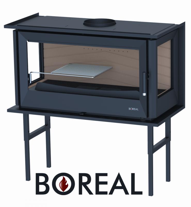Boreal I90/3 - krbová vložka rohová pravá a levá