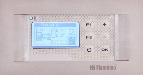 Automatická regulace hoření 120mm k teplovodním krbovým vložkám