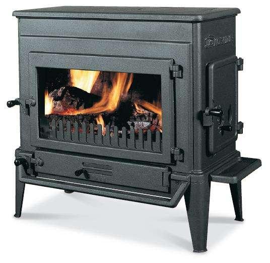 DOVRE Dovre 310 GX - kamna na uhlí a dřevo