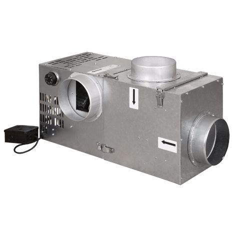 Krbový ventilátor ATC 400 s bypasem