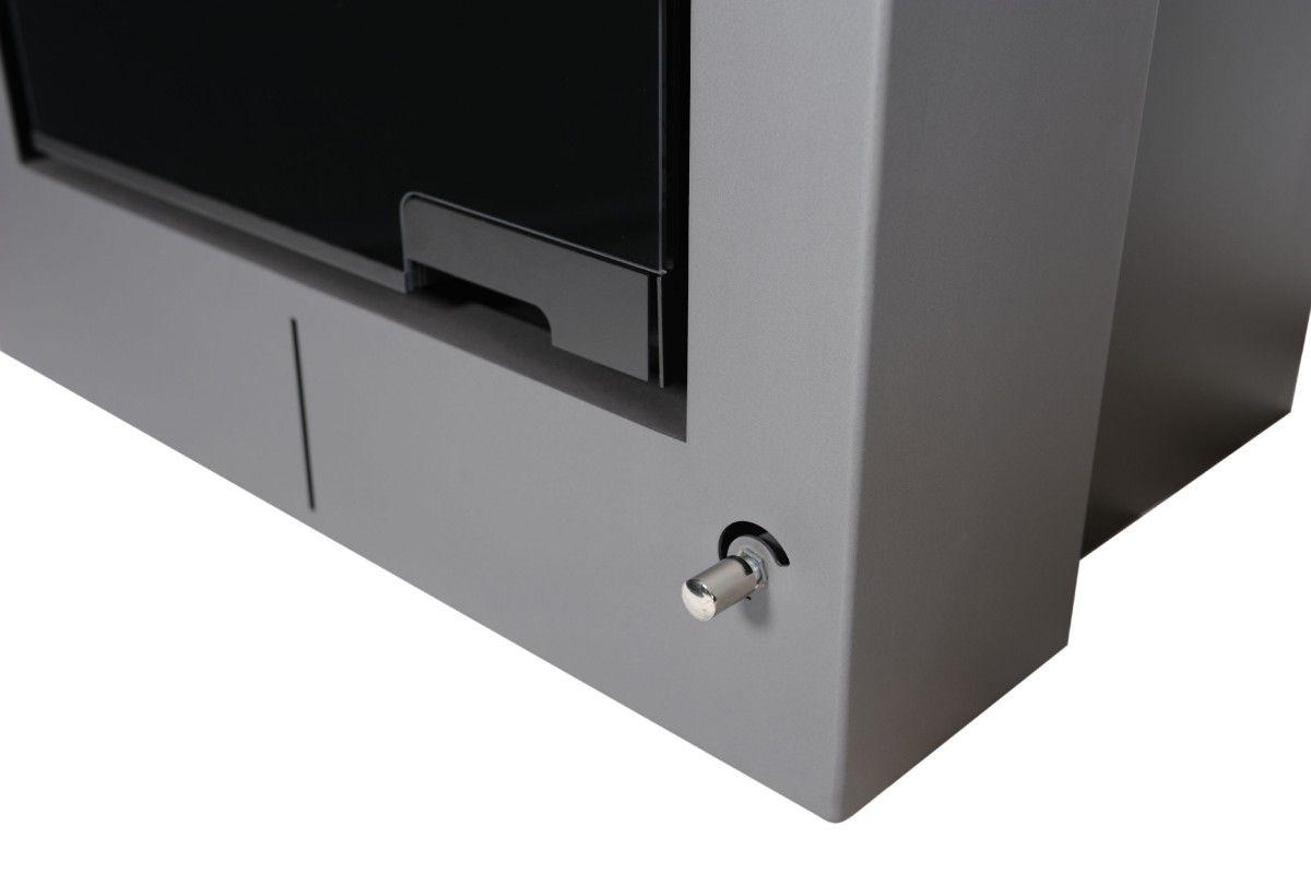 Krbová kamna AQUAFLAM VARIO ® - SAPORO 11/5kW šedá, elektronická regulace