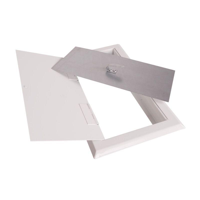 Komínová dvířka bílá BASIC 14x14