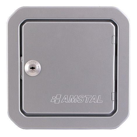 Revizní dvířka 140x140, stříbrná