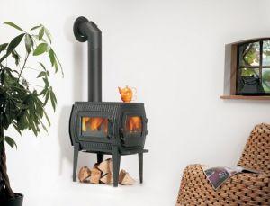 CHARON II - litinová kamna s bočním sklem Globe-Fire odborný prodejce levně!