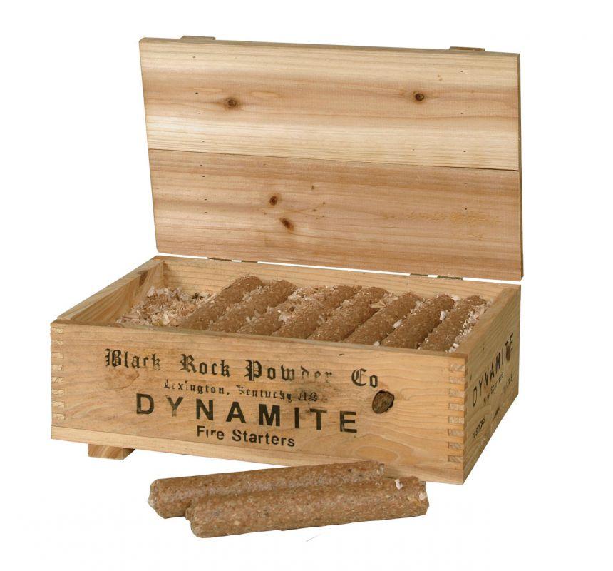 Krbový podpalovač Dynamit v dřevěné krabici Lienbacher odborný prodejce levně!