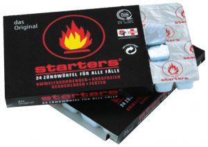 Ekologický podpalovač - zápalné kostky s parafínem