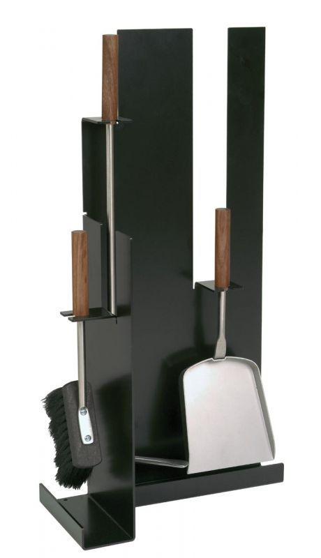Krbové nářadí luxusní černá/ořech 21.02.956.2 Lienbacher odborný prodejce levně!