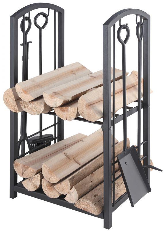 Sada krbové nářadí + koš na dřevo 21.00.208.2 Lienbacher odborný prodejce levně!