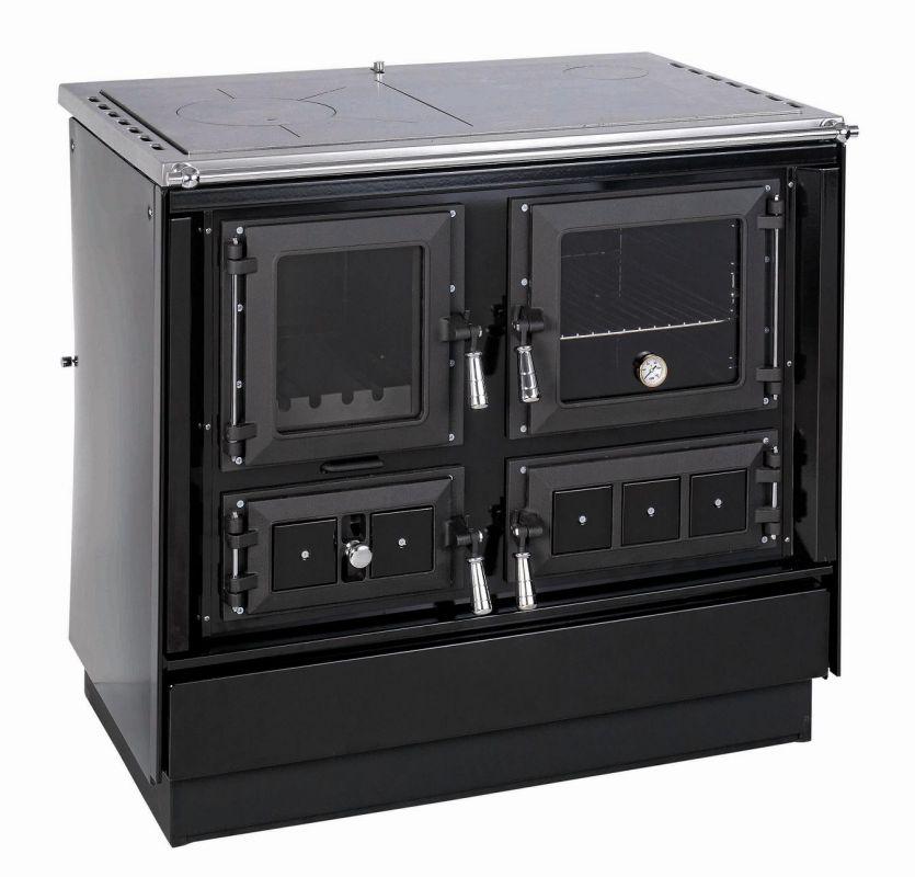 KVS Moravia VSP 9112.2682 KLAUDIE černý - sporák na tuhá paliva, ZDARMA DOPRAVA odborný prodejce levně!