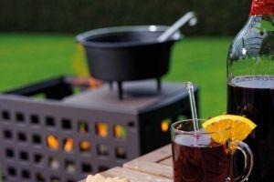 Leda Outfire Guss-Firebox - zahradní ohniště gril odborný prodejce levně!