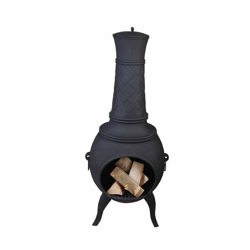 Litinový venkovní terasový krb 130 cm Fancy Flames odborný prodejce levně!