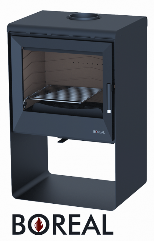 Boreal E2000 černá - kamna krbová odborný prodejce levně!