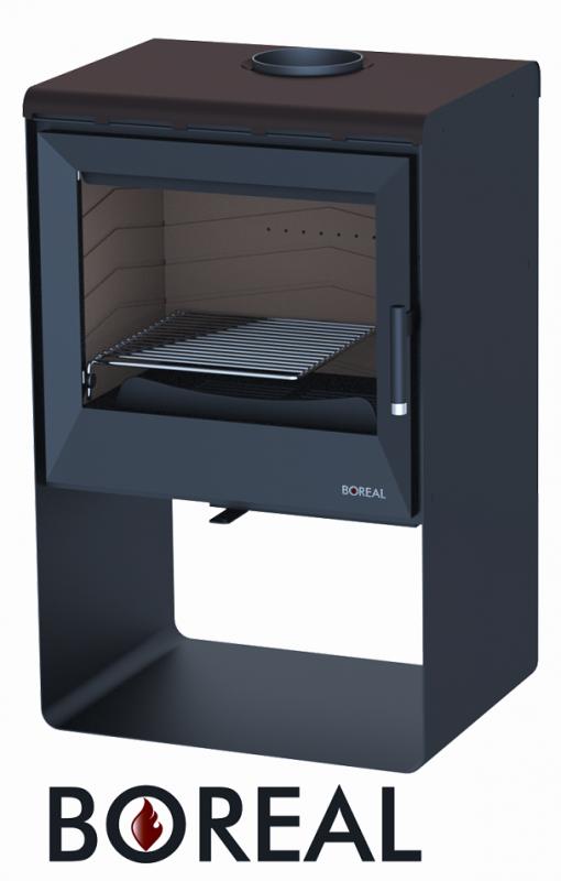 Boreal E2003 moka - kamna krbová odborný prodejce levně!