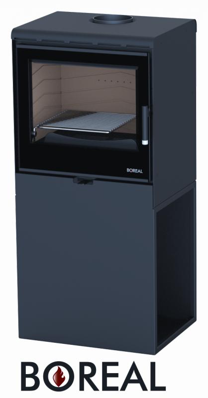Boreal E3000 S černá - kamna krbová odborný prodejce levně!