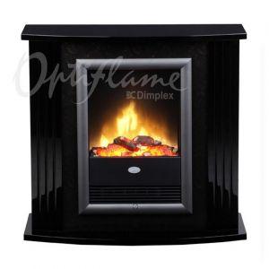 MOZART black LED - elektrický krb s ostěním Dimplex odborný prodejce levně!