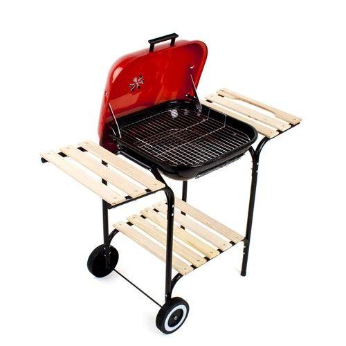 Párty gril na dřevěné uhlí Happy Green odborný prodejce levně!