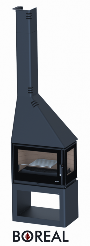 Boreal CH4000EDS - krbová kamna rohová pravá odborný prodejce levně!