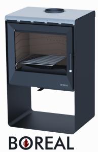 Boreal E2000S černá - kamna krbová odborný prodejce levně!