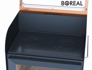 Boreal E6000S - kamna krbová a zahradní gril odborný prodejce levně!