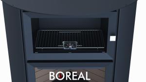 Boreal EH7000 - kamna krbová s troubou odborný prodejce levně!
