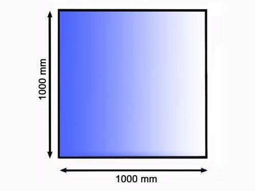 Podkladové sklo pod kamna 100 x 100 cm tl. 8 mm Lienbacher odborný prodejce levně!