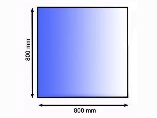 Podkladové sklo pod kamna 80 x 80 cm tl. 8 mm Lienbacher odborný prodejce levně!