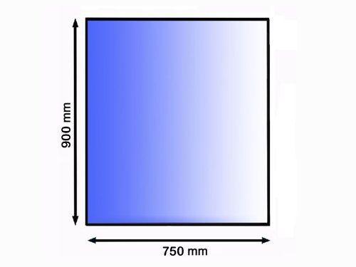 Podkladové sklo pod kamna 90 x 75 cm tl. 8 mm Lienbacher odborný prodejce levně!