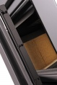 Krbová kamna AQUAFLAM VARIO ® KALMAR 11/7kW červená, elektronická regulace odborný prodejce levně!