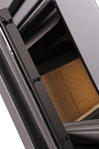Krbová kamna AQUAFLAM VARIO ® KALMAR 11/7kW hnědá - sametová, elektronická regulace odborný prodejce levně!