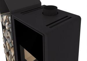 Krbová kamna FLAMINGO DELUXE ® KAMPA levá, černá odborný prodejce levně!