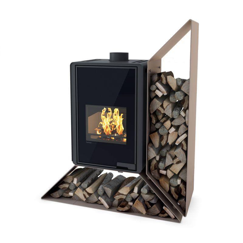 Krbová kamna FLAMINGO DELUXE ® KAMPA pravá, olivová odborný prodejce levně!