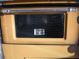 Alfa Plam REGULAR 46 De Lux pravý - sporák na tuhá paliva odborný prodejce levně!