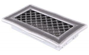 Krbová mřížka 10x20cm DECO stříbro - patina odborný prodejce levně!