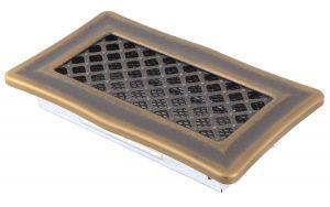 Krbová mřížka 10x20cm DECO zlato - patina odborný prodejce levně!