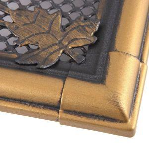 Krbová mřížka 10x20cm RETRO zlato - patina odborný prodejce levně!