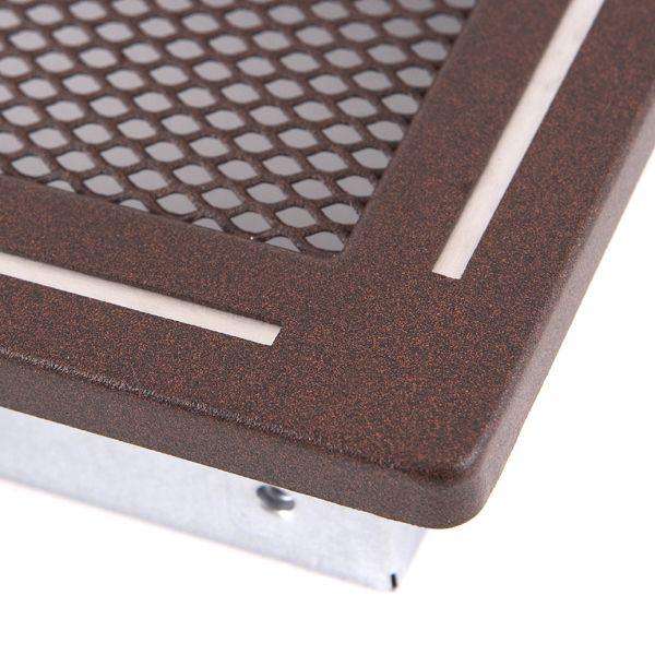 Krbová mřížka 10x20cm TREND hnědý brokát odborný prodejce levně!