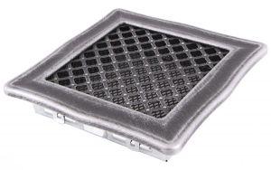 Krbová mřížka 16x16cm DECO stříbro - patina odborný prodejce levně!