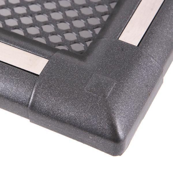 Krbová mřížka 16x16cm EXCLUSIVE grafit / nerez odborný prodejce levně!