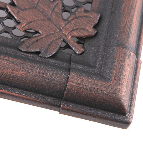 Krbová mřížka 16x16cm s žaluzií RETRO měd - patina odborný prodejce levně!