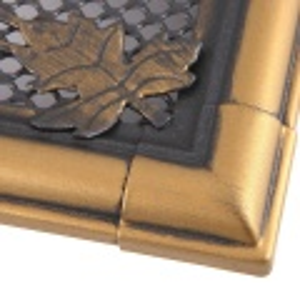 Krbová mřížka 16x32cm RETRO zlato - patina odborný prodejce levně!