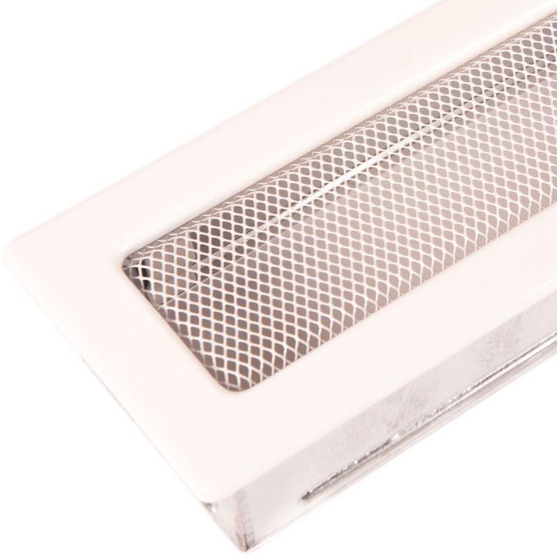 Krbová mřížka standard 11x25cm bílá odborný prodejce levně!