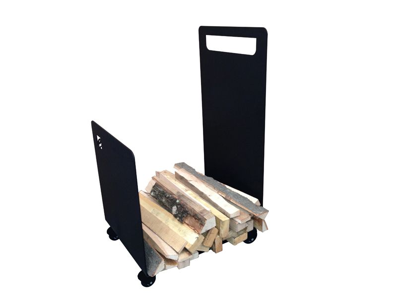 Zásobník na dřevo vozík s kolečky CAFDesign odborný prodejce levně!