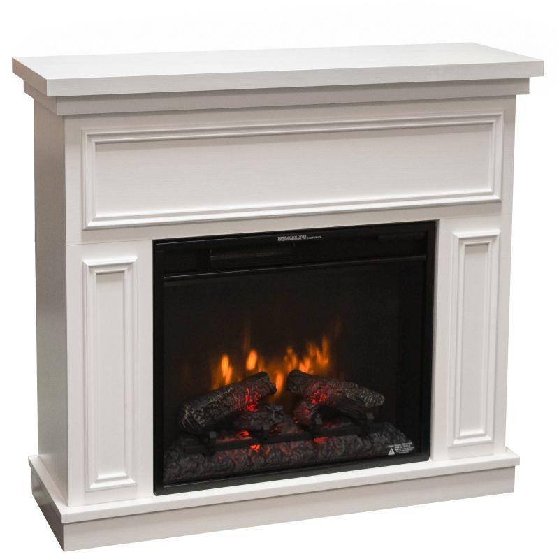 Kemi bílý - elektrický krb s ostěním Classic Flame odborný prodejce levně!