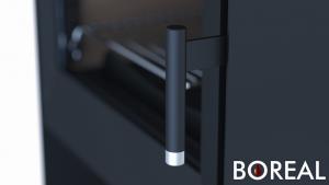Boreal E2000 stříbrná - kamna krbová odborný prodejce levně!